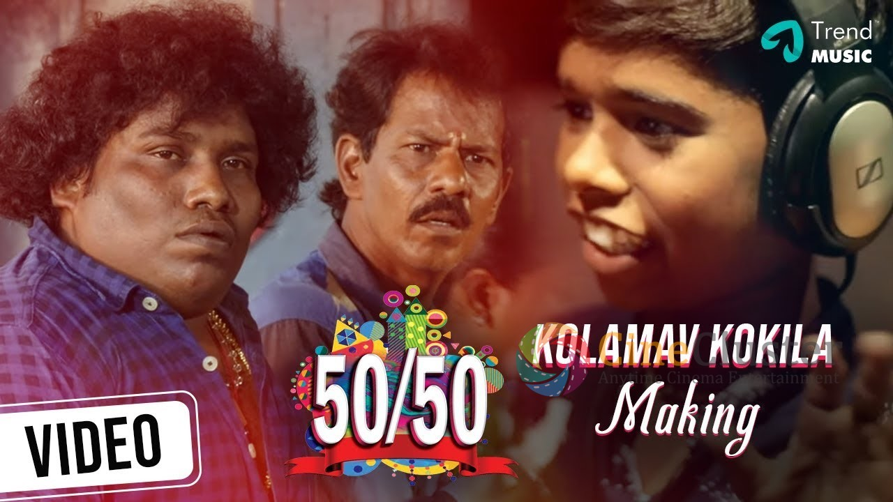 Kolamav Kokkila Song Making Video