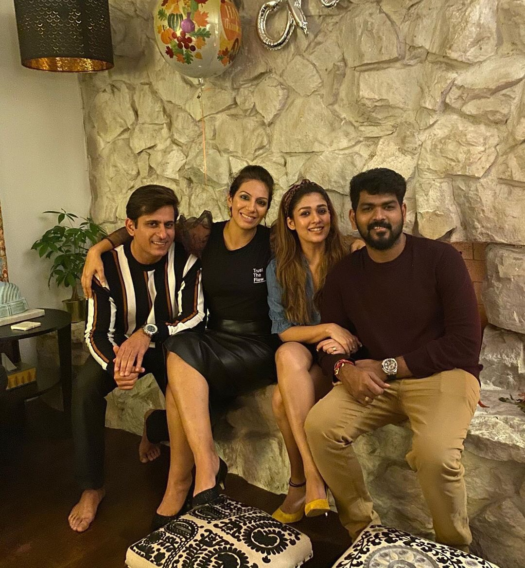 Nayanthara and Vignesh Shivan's Thanksgiving Celebration