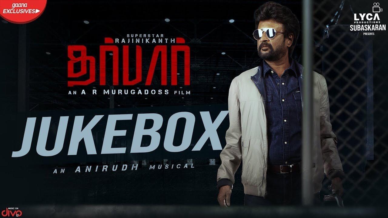 DARBAR (Tamil) – Official Jukebox