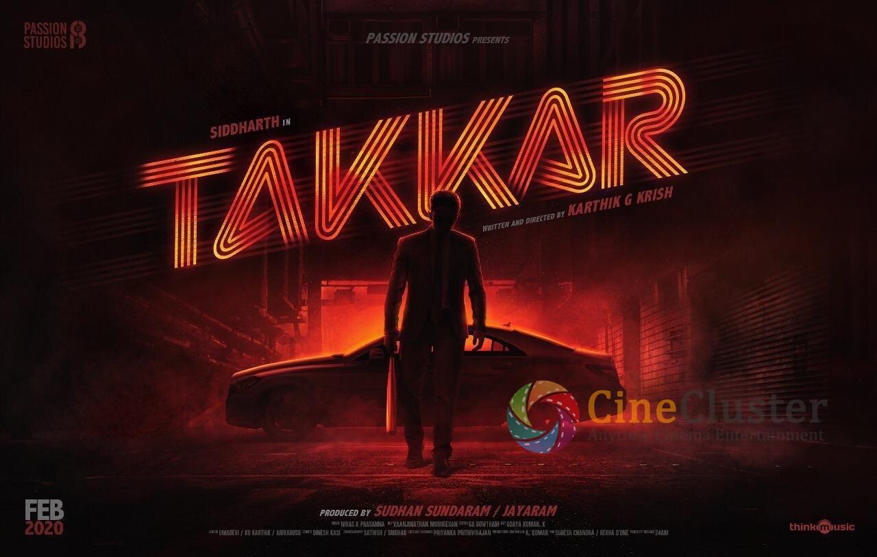 Takkar Title Look Poster