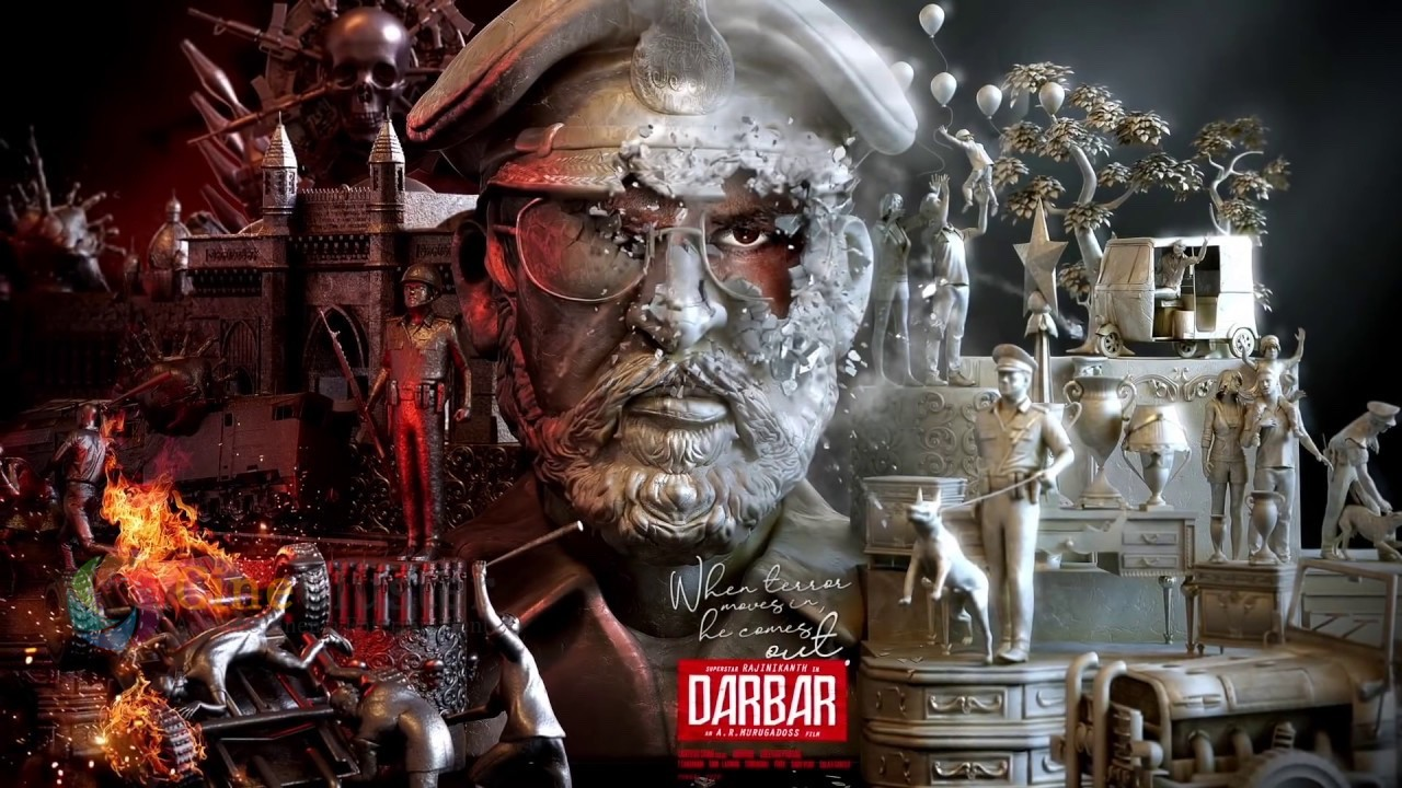 Darbar Special Motion Poster