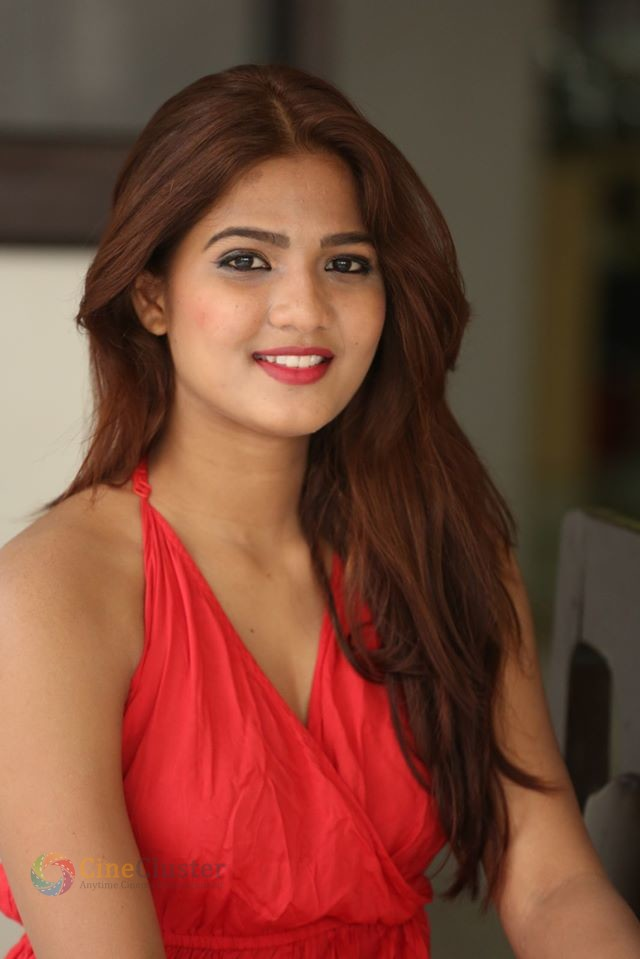 Actress Sravani Nikki from Life Anubhavinchu Raja Press Meet