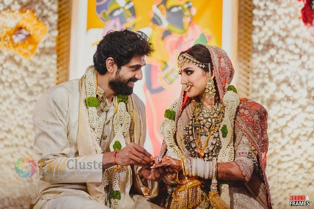 Exclusive Stills from Rana-Miheeka Wedding