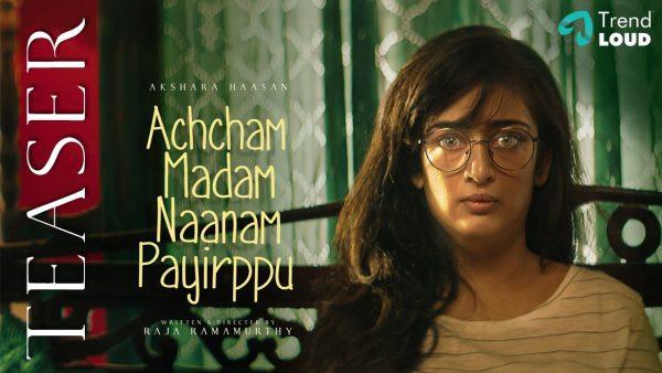 Achcham Madam Naanam Payirppu Teaser is Out!