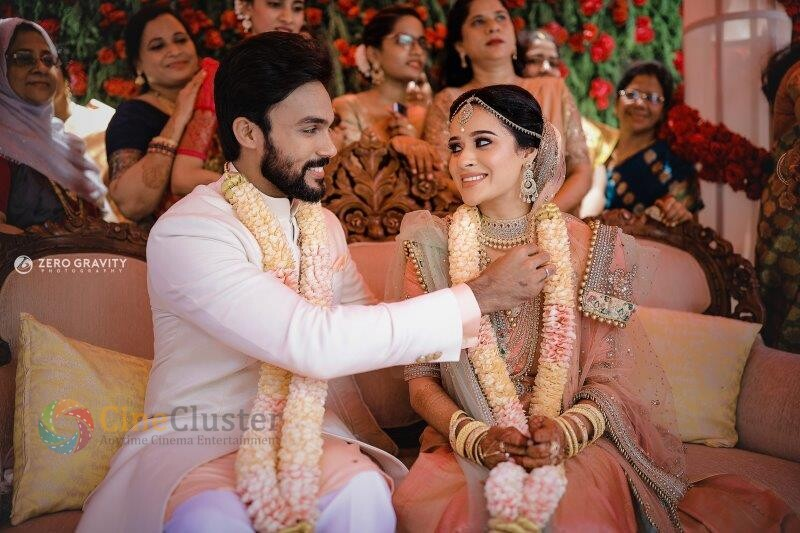 Exclusive : Arav and Raahei Wedding Stills