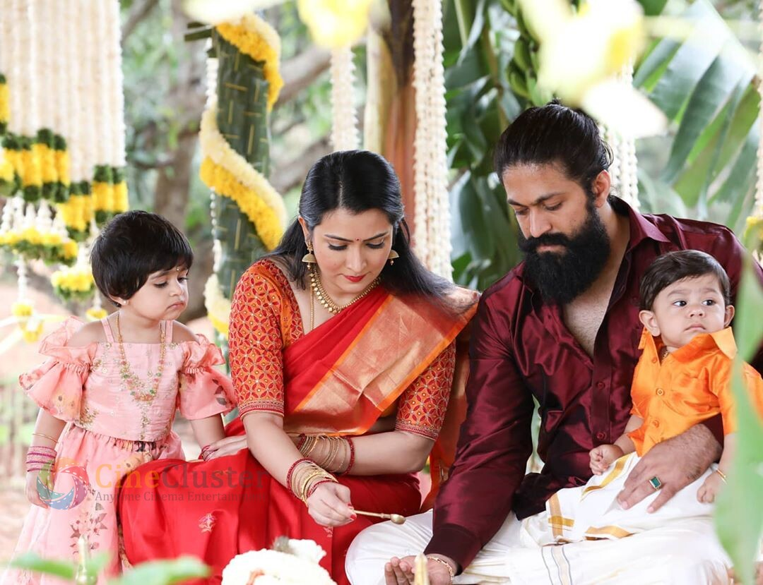 YASH REVEALS HIS BABY BOY'S NAME WITH A RAVISHING VIDEO