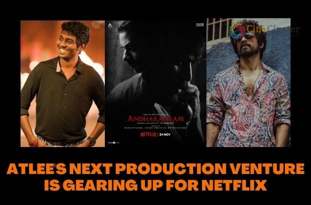 ATLEE'S NEXT PRODUCTION VENTURE IS GEARING UP FOR NETFLIX
