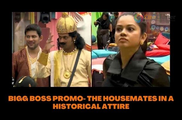 BIGG BOSS PROMO- THE HOUSEMATES IN A HISTORICAL ATTIRE