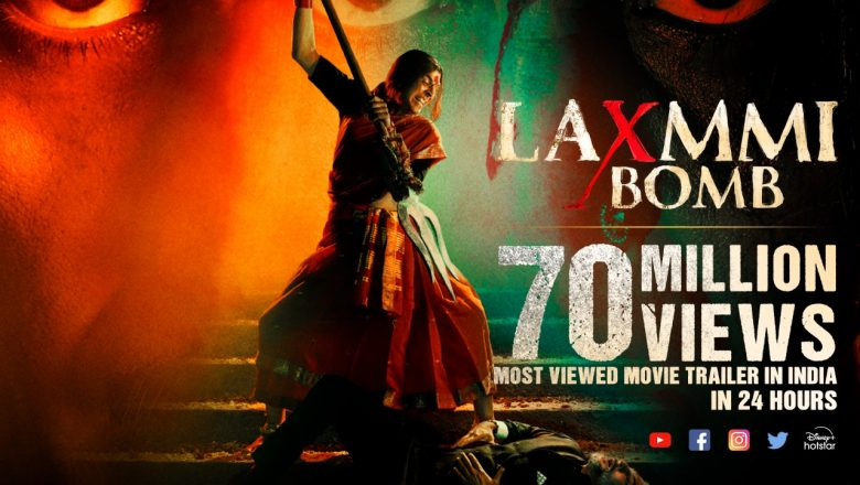 Laxmmi Bomb Trailer