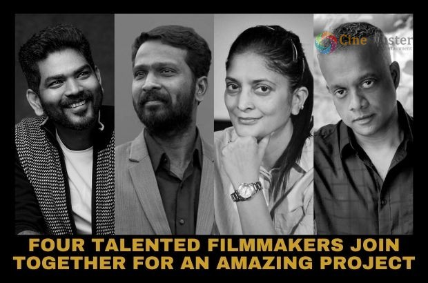 FOUR TALENTED FILMMAKERS JOIN TOGETHER FOR AN AMAZING PROJECT