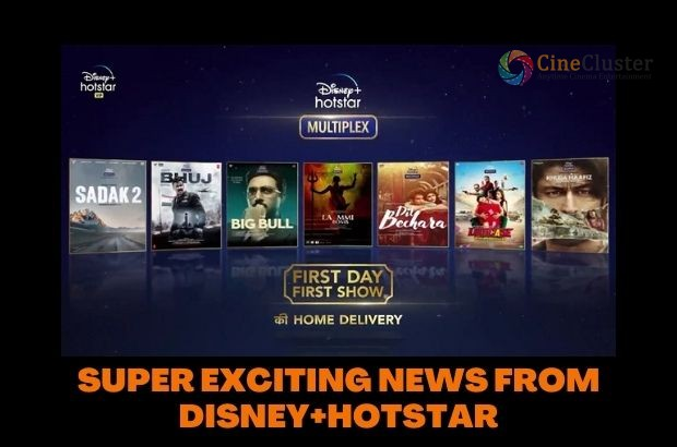 SUPER EXCITING NEWS FROM DISNEY+HOTSTAR