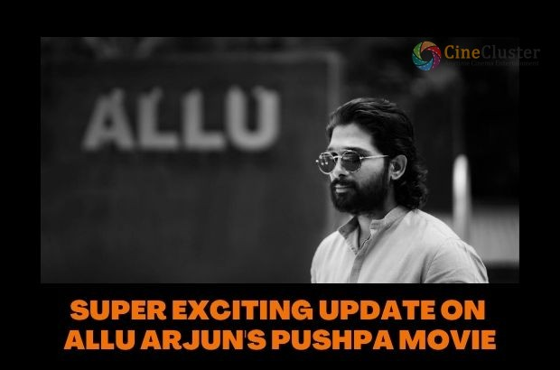 SUPER EXCITING UPDATE ON ALLU ARJUN'S PUSHPA MOVIE