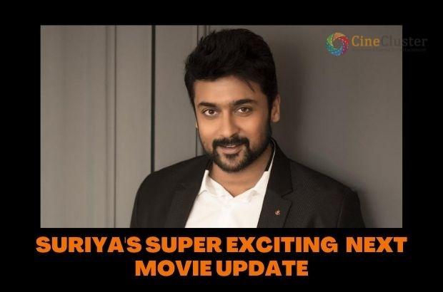 SURIYA'S SUPER EXCITING  NEXT MOVIE UPDATE