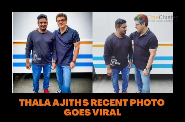 THALA AJITH'S RECENT PHOTO GOES VIRAL