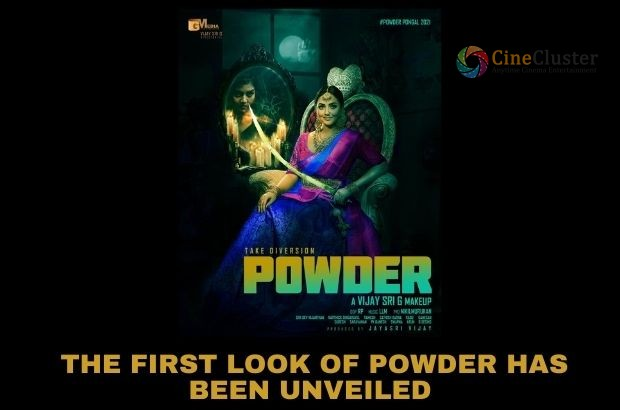 THE FIRST LOOK OF POWDER HAS BEEN UNVEILED