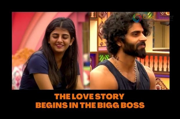 THE LOVE STORY BEGINS IN THE BIGG BOSS