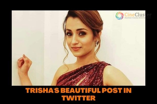 TRISHA'S BEAUTIFUL POST IN TWITTER