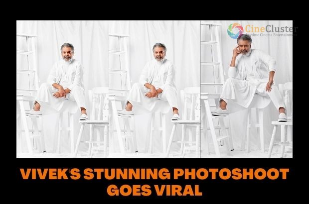 VIVEK'S STUNNING PHOTOSHOOT GOES VIRAL