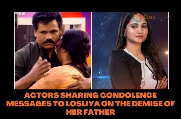 ACTORS SHARING CONDOLENCE MESSAGES TO LOSLIYA ON THE DEMISE OF HER FATHER
