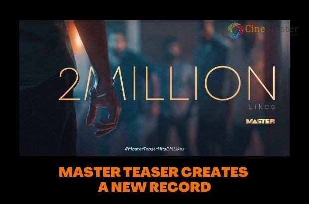 MASTER TEASER CREATES A NEW RECORD