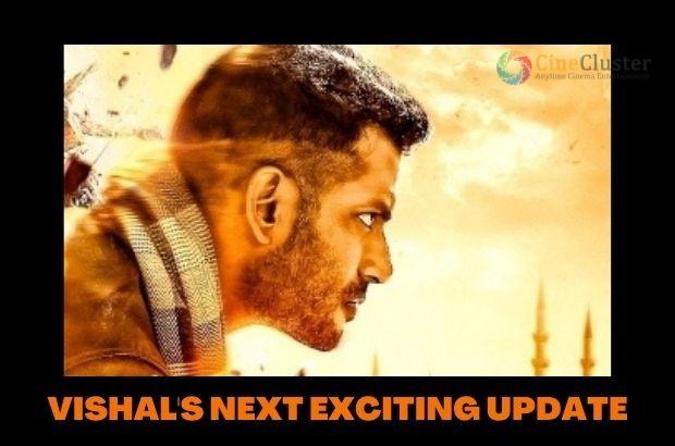 VISHAL'S NEXT EXCITING UPDATE