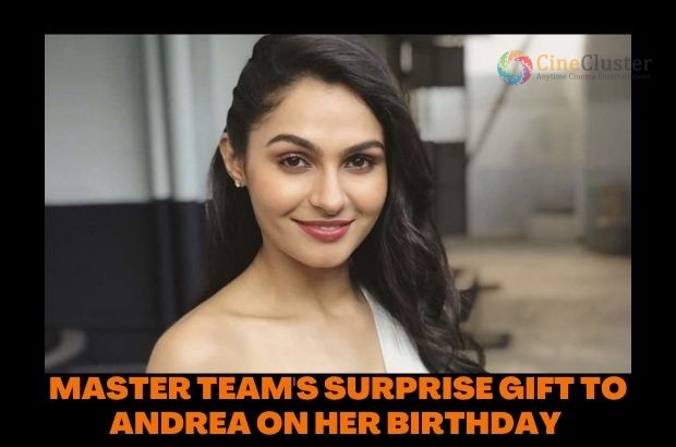MASTER TEAM'S SURPRISE GIFT TO ANDREA ON HER BIRTHDAY