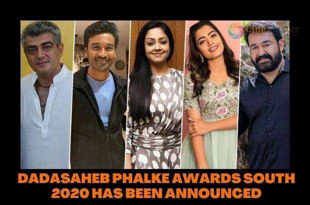 DADASAHEB PHALKE AWARDS SOUTH 2020 HAS BEEN ANNOUNCED