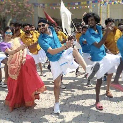 ஹர்பஜன் சிங்கின் 'வாத்தி கம்மிங்' – வைரல் வீடியோ…