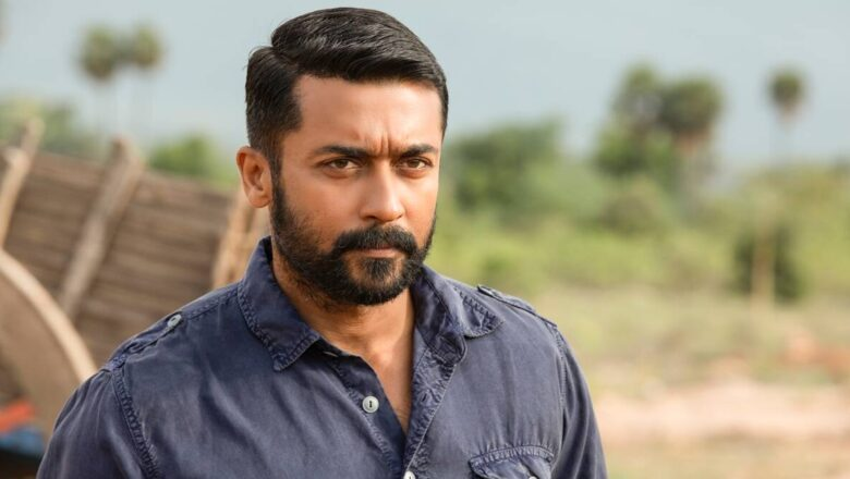 "Suriya rocks in his lawyer look for his upcoming movie ""Suriya 39"""
